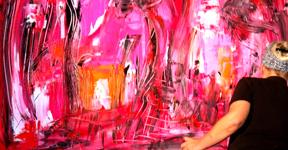 Etelka Kovacs Koller Live Event Painting