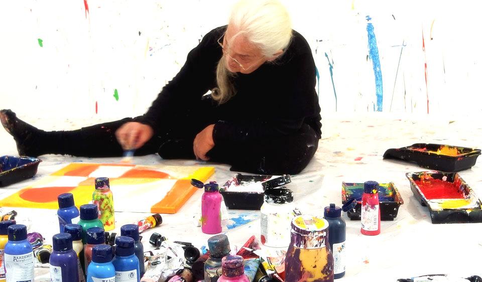 Action Painting Etelka Kovacs-Koller