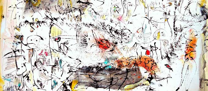 Musik und Action Painting