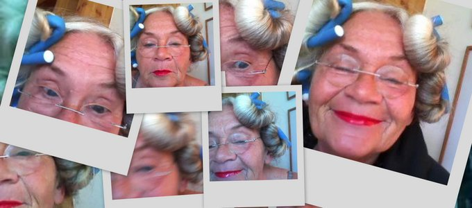 Damenbart Kunstvoll altern
