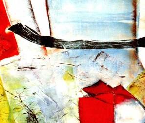 Materialcollage Malerei