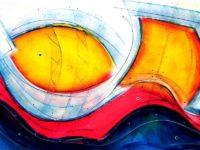 Original Acrylbild von Etelka Kovacs-Koller - Mehr Meer - Etuede