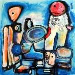 Etelka Kovacs-Koller Acrylic Paintings