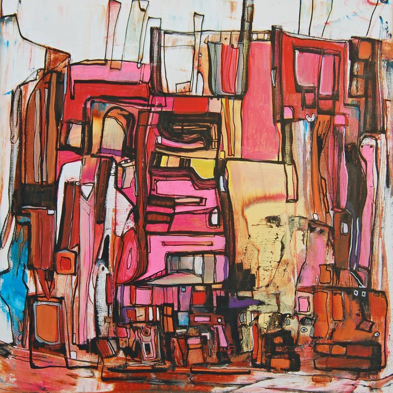 Etelka Kovacs-Koller Molotow Paintings 7