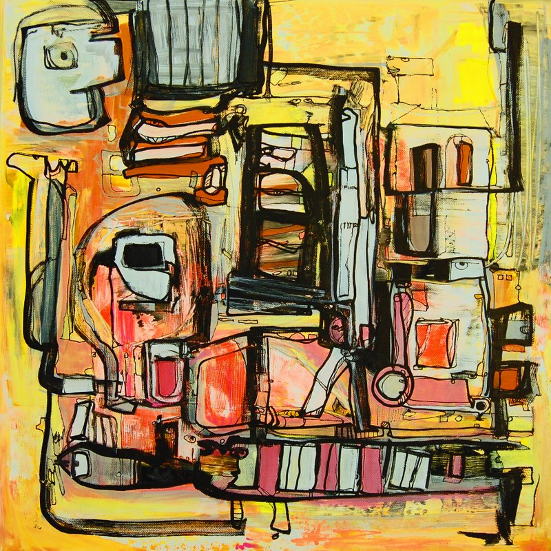 Etelka Kovacs-Koller Molotow Paintings 9