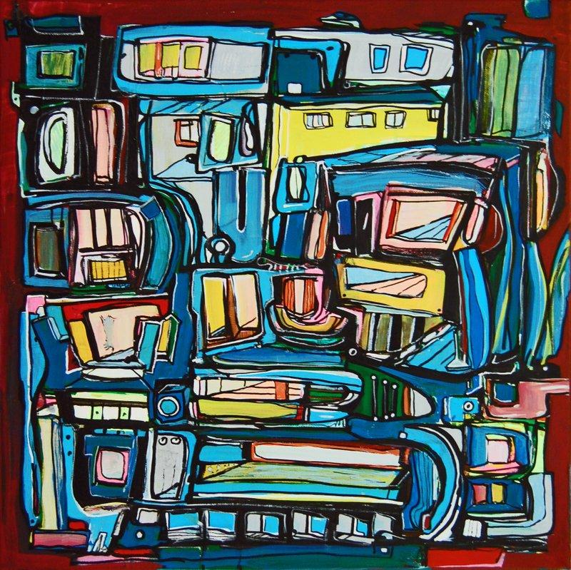 Etelka Kovacs-Koller Molotow Paintings 13