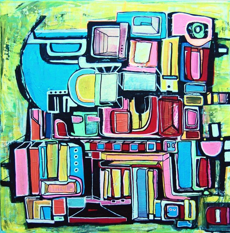 Etelka Kovacs-Koller Molotow Paintings 14