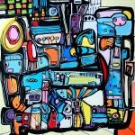 Etelka Kovacs-Koller Molotow Paintings 2