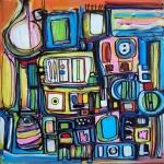 Etelka Kovacs-Koller Molotow Paintings 5