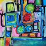 Etelka Kovacs-Koller Molotow Paintings 6