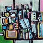 Etelka Kovacs-Koller Molotow Paintings 8