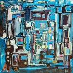 Etelka Kovacs-Koller Molotow Paintings 11