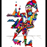 Etelka Kovacs-Koller Zeichnung