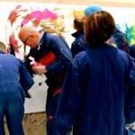 Teampainting Action Painting Kempinski