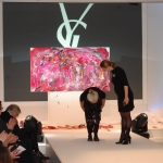 Live Action Painting Etelka Kovacs-Koller for Yves Saint Laurent 2012