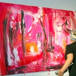 Etelka Kovacs-Koller Action Painting YSL