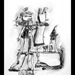 Zeichnung Etelka Kovacs-Koller