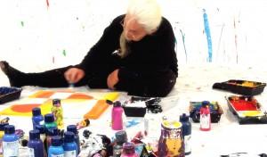 Action Painting by Etelka Kovacs-Koller