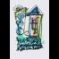 Wortsalat Nr.1 Zeichnung auf Aquarellkarton von Etelka Kovacs-Koller