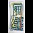 Wortsalat Nr.8 - Zeichnung von Etelka Kovacs-Koller, gemalt 2007 in der Provence