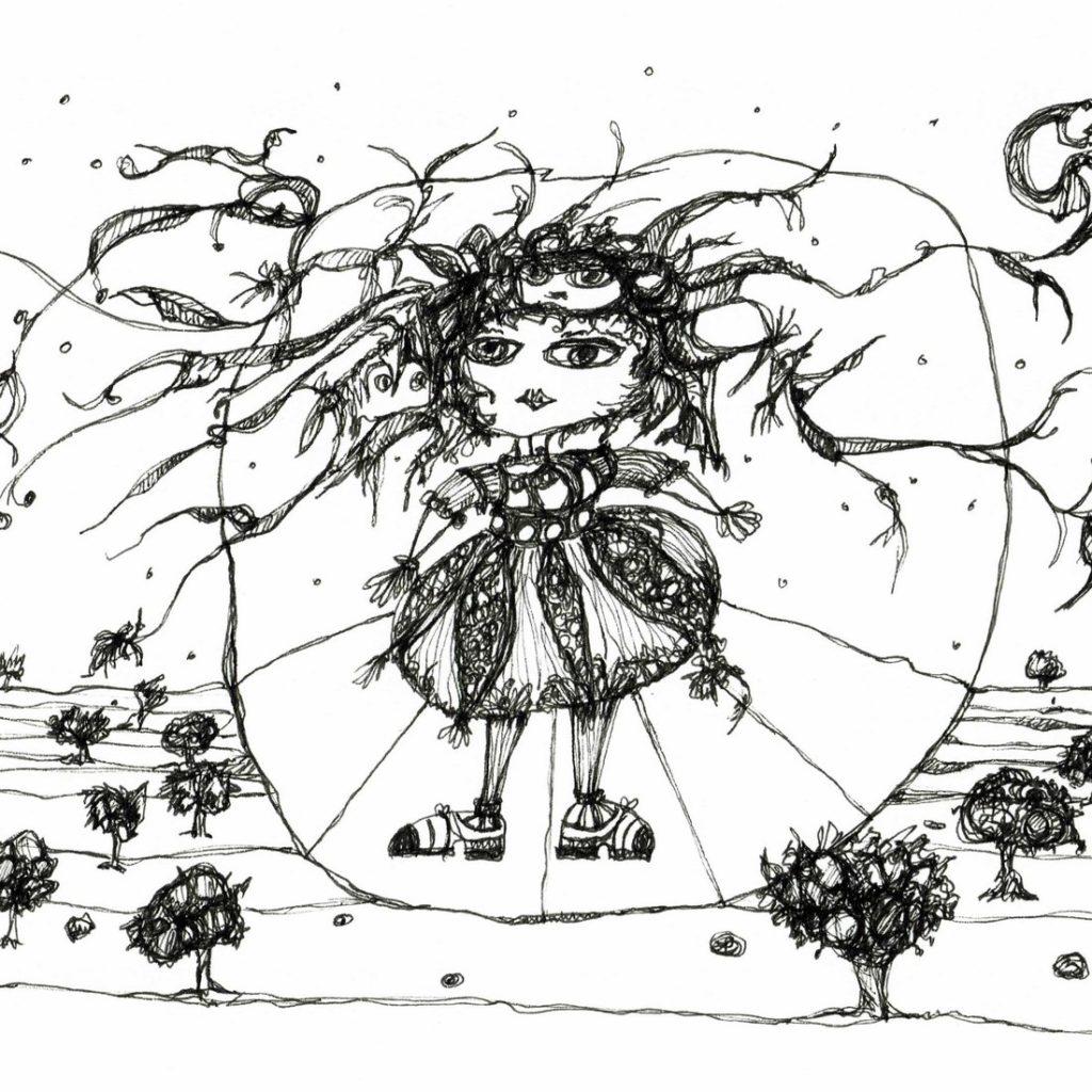 Feine Zeichnungen - Universum Serie - 2016 Etelka Kovacs-Koller